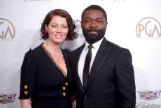 David Oyelowo, right, and Jessica Oyelowo arrive at the 29th annual Producers Guild Awards at the Beverly Hilton on Saturday, Jan. 20, 2018, in Beverly Hills, Calif. (Photo by Richard Shotwell/Invision/AP)