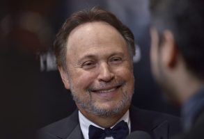 Actor Billy Crystal is honored by the Friar's Club with the Entertainment Icon Award at The Ziegfeld Ballroom in New York, NY, on November 12, 2018. (Photo by Anthony Behar/Sipa USA)(Sipa via AP Images)