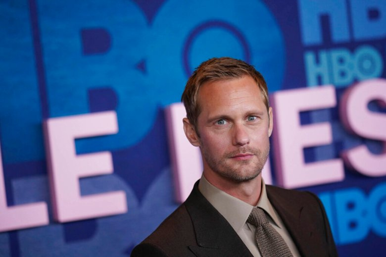 "Photo by: zz/John Nacion/STAR MAX/IPx 2019 5/29/19 Alexander Skarsgard at the HBO Television Network season 2 premiere of ""Big Little Lies"" held at Jazz at Lincoln Center in New York City. (NYC)"