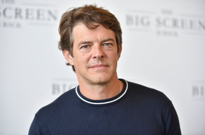 """Jason Blum arrives at The Big Screen is Back"""" media event, including ten studios convening to showcase a sampling of their summer movie releases, on Wednesday, May 19, 2021, at AMC Century City 15 in Los Angeles. (Photo by Richard Shotwell/Invision/AP)"""