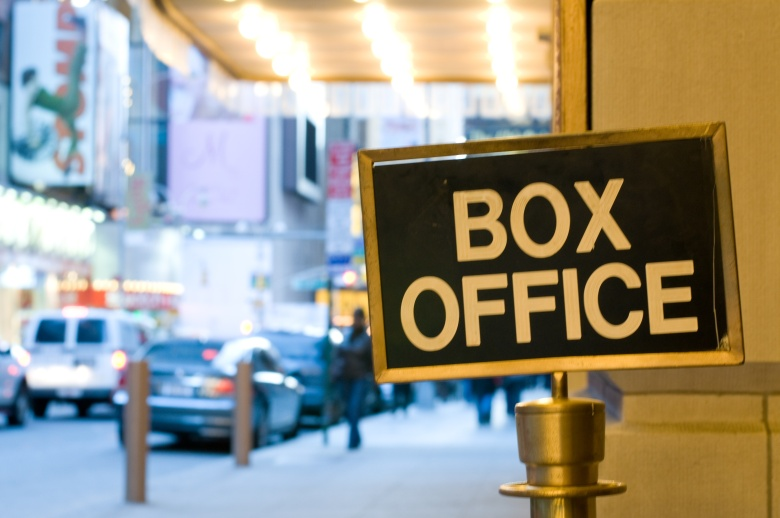 Theater Box Office Sign