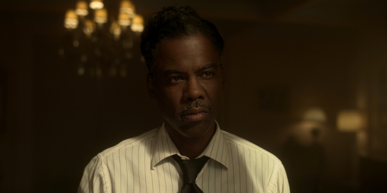 """FARGO -- """"Storia Americana"""" - Year 4, Episode 11  (Airs November 29)  Pictured: Chris Rock as Loy Cannon. CR: FX"""