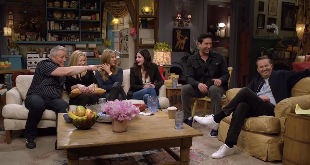 Friends Reunion HBO Max Jennifer Aniston Matt LeBlanc Lisa Kudrow