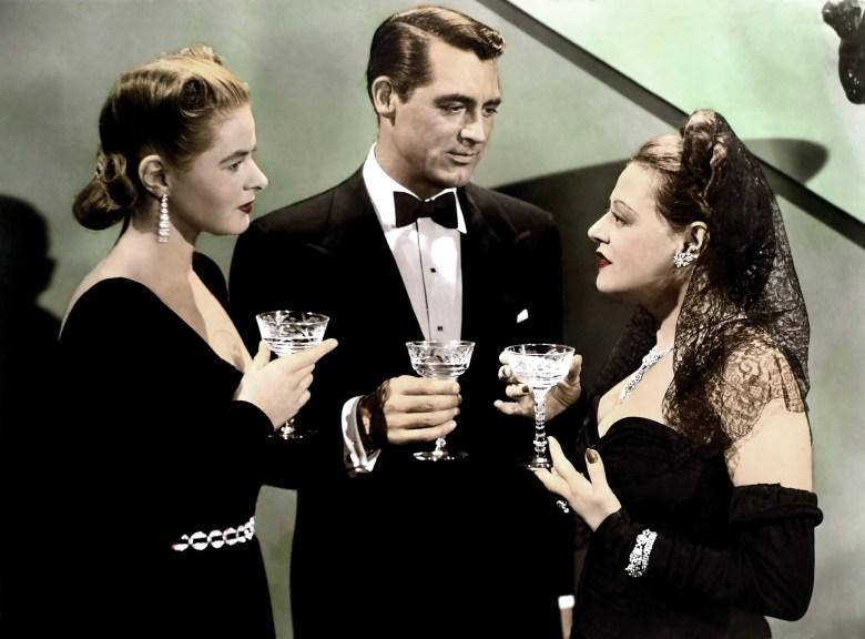 NOTORIOUS, Ingrid Bergman, Cary Grant, Lenore Ulric, 1946