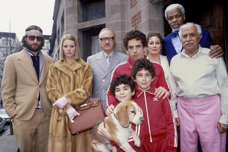 THE ROYAL TENENBAUMS, Luke Wilson, Gwyneth Paltrow, Gene Hackman, Ben Stiller, Anjelica Huston, Danny Glover, Kumar Pallana, Grant Rosenmeyer, Jonah Meyerson, 2001.