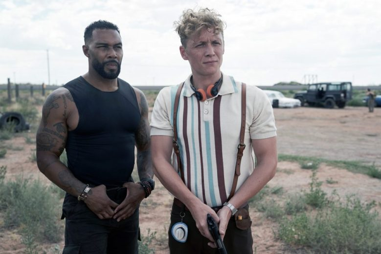 ARMY OF THE DEAD, from left: Omari Hardwick, Matthias Schweighofer, 2021. ph: Clay Enos / © Netflix / courtesy Everett Collection