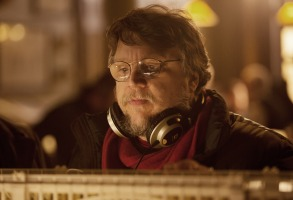 CRIMSON PEAK, director Guillermo del Toro, on set, 2015. ph: Kerry Hayes/©Universal Pictures/Courtesy Everett Collection