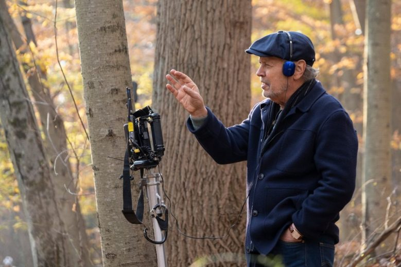 HERE TODAY, director Billy Crystal, on set, 2021. ph: Linda Kallerus / © Stage 6 Films / Courtesy Everett Collection