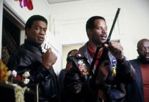 I'M GONNA GIT YOU, SUCKA, Bernie Casey, Keenan Ivory Wayans, Isaac Hayes, 1988, (c) United Artists/courtesy Everett Collection