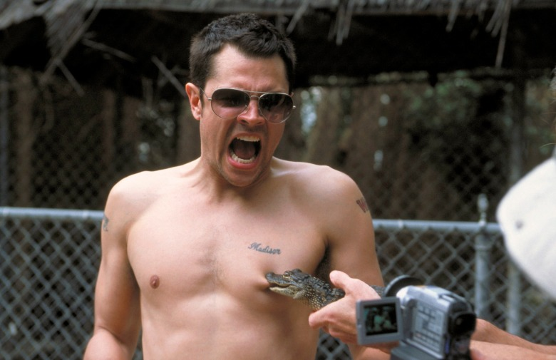 JACKASS: THE MOVIE, Johnny Knoxville, 2002. ©Paramount/courtesy Everett Collection.