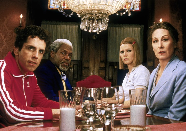 THE ROYAL TENENBAUMS, Ben Stiller, Danny Glover, Gwyneth Paltrow, Anjelica Huston, 2001. (c) Buena Vista Pictures/Courtesy Everett Collection