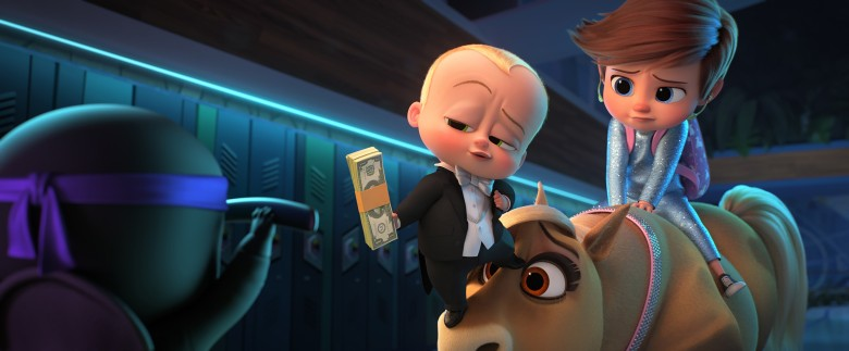 THE BOSS BABY: FAMILY BUSINESS, from left: Theodore Templeton (voice: Alec Baldwin), Tim Templeton (voice: James Marsden), 2021. © Universal /Courtesy Everett Collection