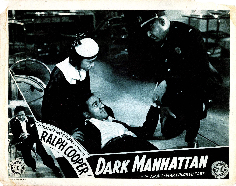 DARK MANHATTAN, Cleo Herndon, Ralph Cooper, Jess Lee Brooks, 1937