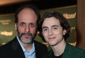 Luca Guadagnino and Timothee Chalamet