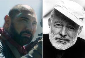 Dave Bautista and Ernest Hemingway