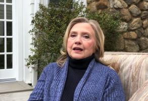 "Hillary Clinton appears in ""Debunking Borat"""