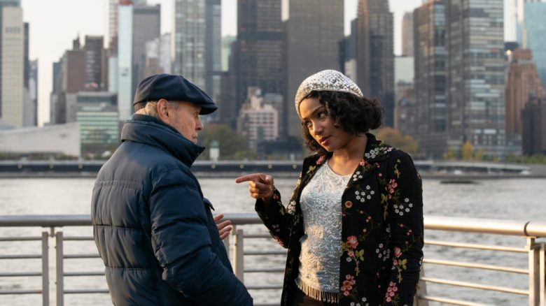 """This image released by Sony Pictures shows Tiffany Haddish, right, and Billy Crystal in a scene from """"Here Today."""" (Cara Howe/Sony Pictures via AP)"""