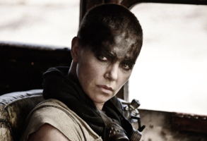 "Charlize Theron as Furiosa in ""Mad Max: Fury Road"""