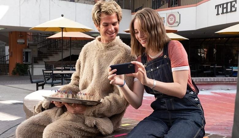 TitlesMainstreamMAY 04, 2021 - Andrew Garfield and Maya Hawke in