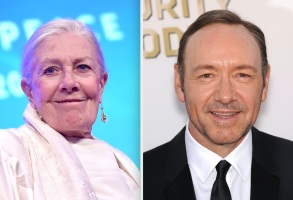 Vanessa Redgrave and Kevin Spacey