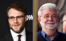 Seth Rogen and George Lucas