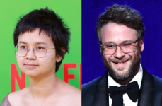 Charlyne Yi and Seth Rogen