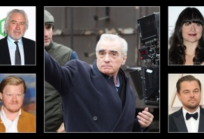 "Martin Scorsese and his ""Killers of the Flower Moon"" cast"