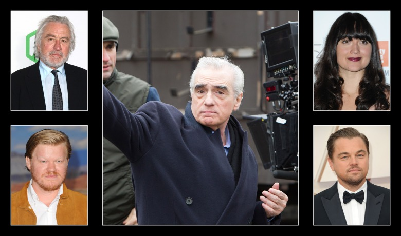 """Martin Scorsese and his """"Killers of the Flower Moon"""" cast"""