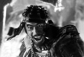 """Toshiro Mifune in """"The Seven Samurai"""""""
