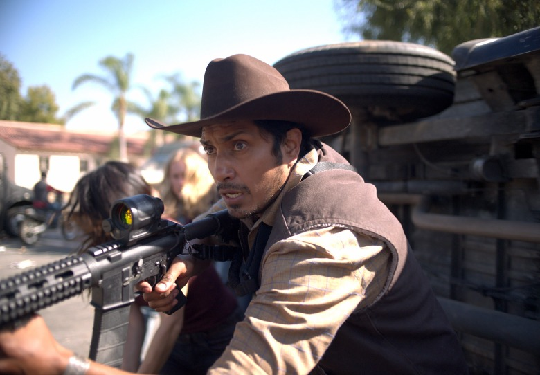 Tenoch Huerta as Juan in The Forever Purge, directed by Everardo Valerio Gout.