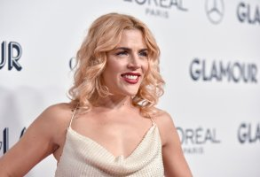 """Busy Philipps attends the 2019 Glamour's """"Women of the Year"""" Awards Gala at Alice Tully Hall, Lincoln Center in New York, NY, November 11, 2019. (Photo by Anthony Behar/Sipa USA)(Sipa via AP Images)"""