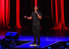 Dave Chappelle performs at Radio City Music Hall on Wednesday, June 18, 2014, in New York City. (Photo by Brad Barket /Invision/AP)