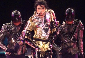 FILE - In this Nov. 14, 1996 file photo, Michael Jackson performs in Sydney.  Jackson, 50, died in Los Angeles on Thursday, June 25, 2009. (AP Photo/Rick Rycroft, file)