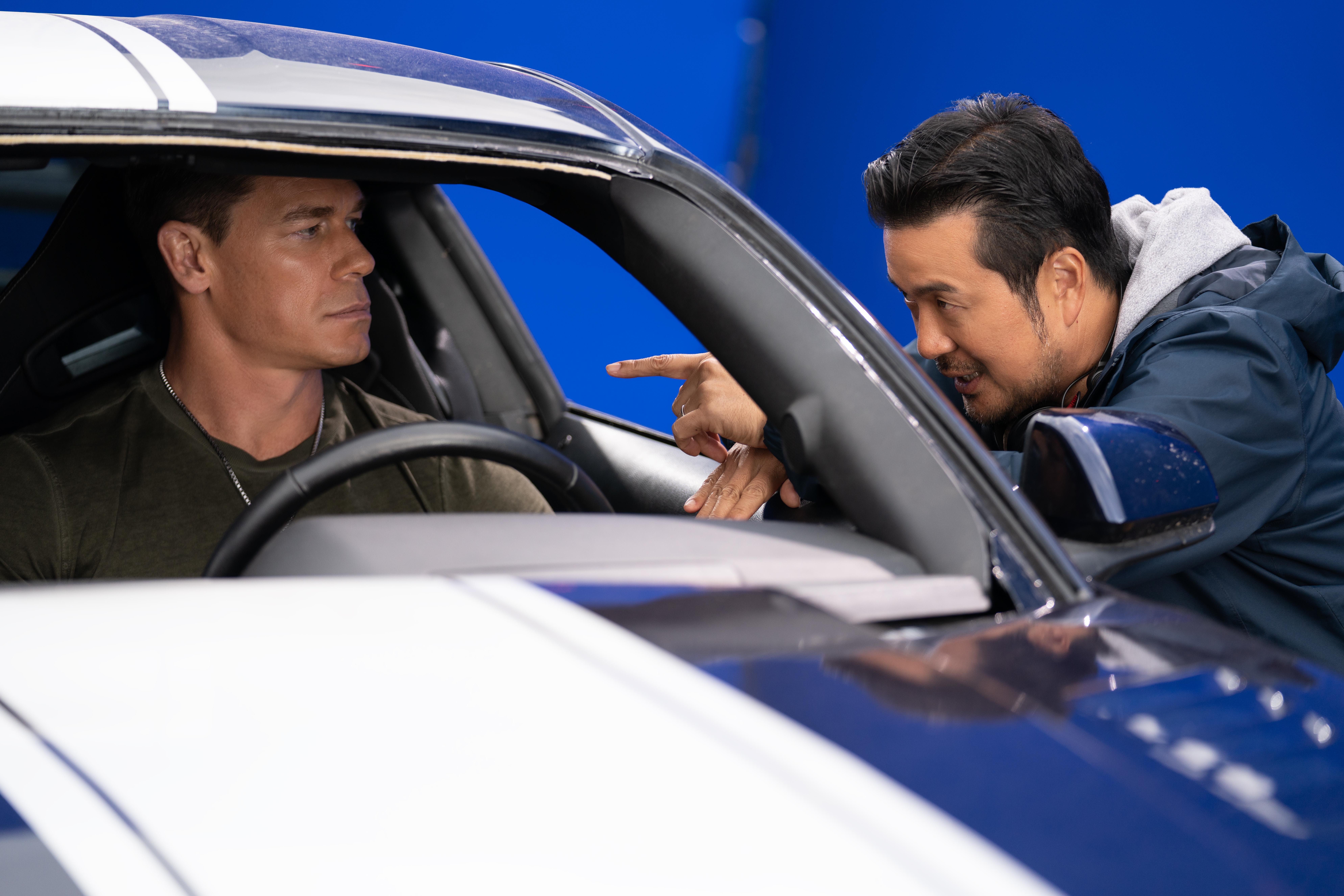 F9: John Cena and Justin Lin