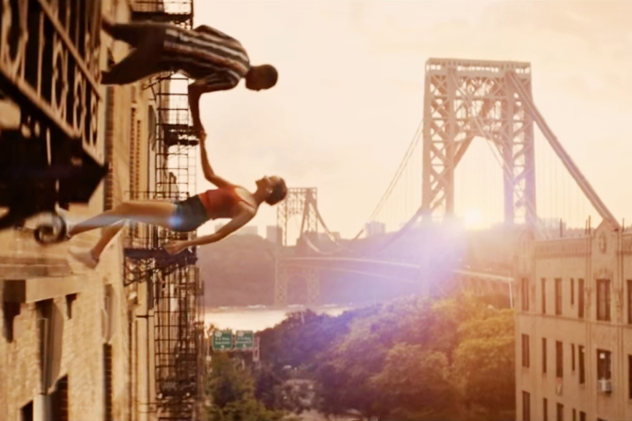 'In the Heights': How They Danced Up the Side of a Building