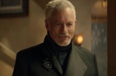 "John de Lancie as Q in ""Star Trek: Picard."""