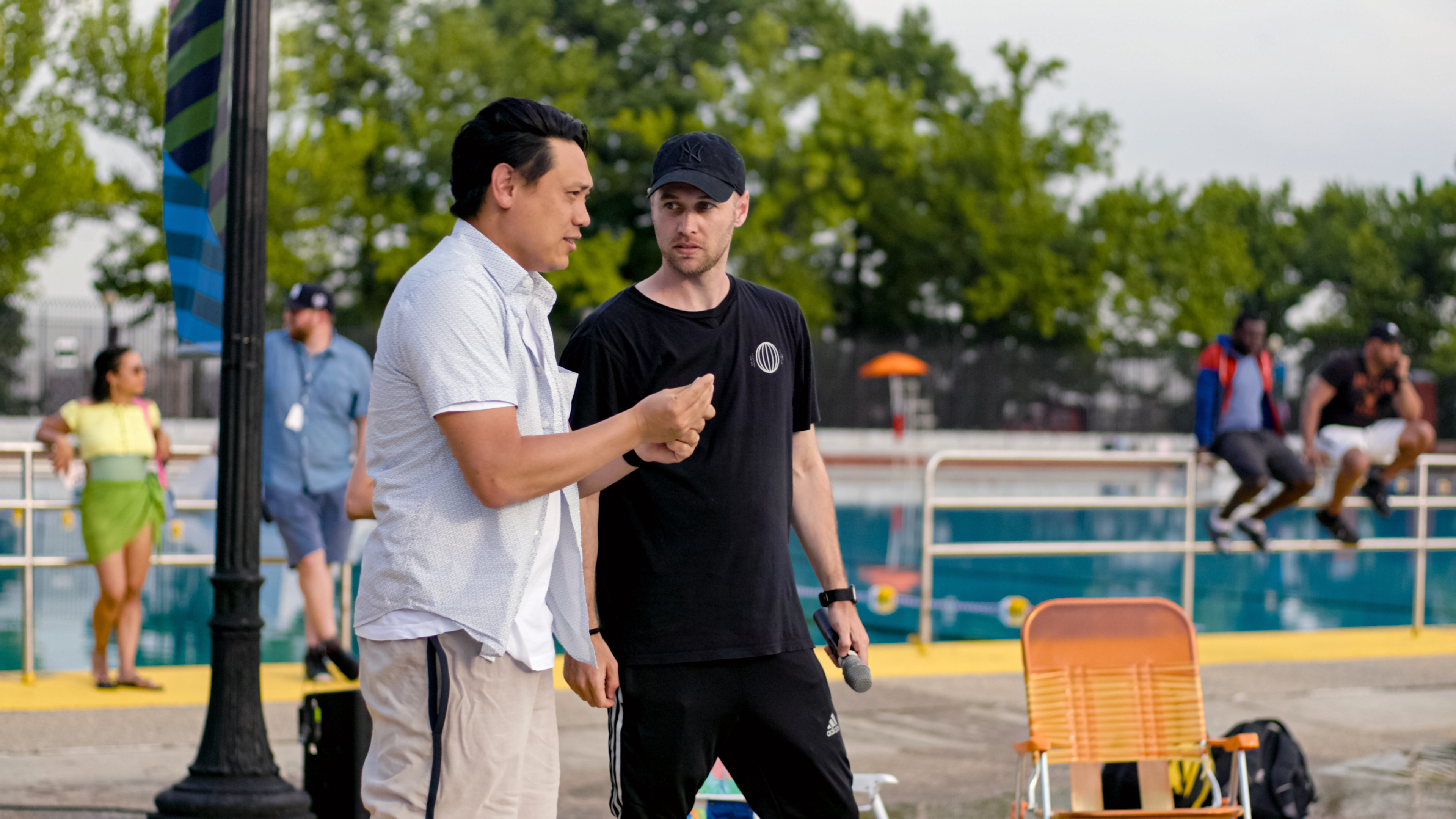 In the Heights: Jon M. Chu and choreographer Christopher Scoot