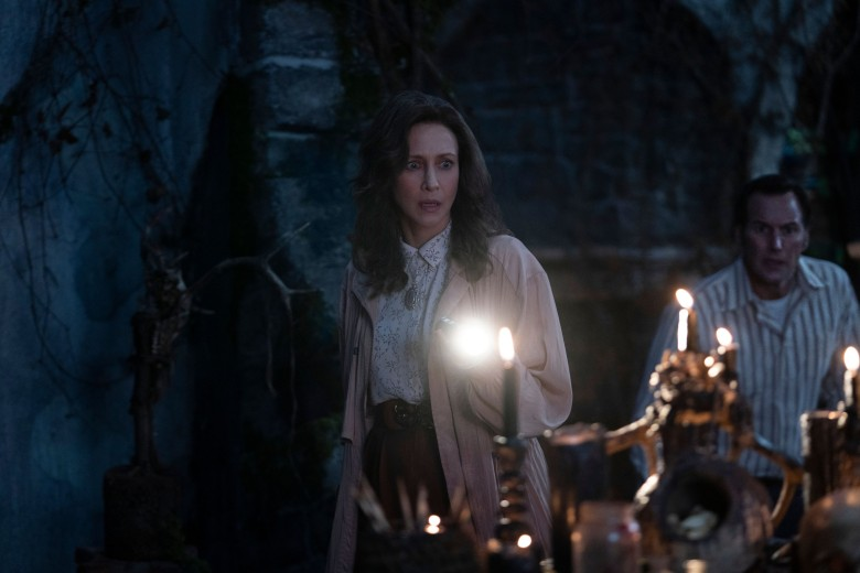 THE CONJURING: THE DEVIL MADE ME DO IT, from left: Vera Farmiga, Patrick Wilson, 2021. ph: Ben Rothstein / © Warner Bros. / Courtesy Everett Collection