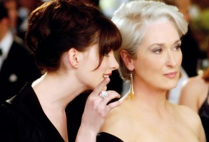 THE DEVIL WEARS PRADA, Anne Hathaway, Meryl Streep, 2006, TM & Copyright (c) 20th Century Fox Film Corp. All rights reserved.