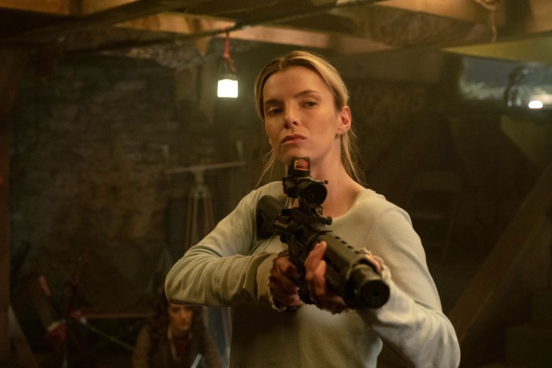 THE HUNT, Betty Gilpin, 2020. ph: Patti Perret / © Universal Pictures / courtesy Everett Collection