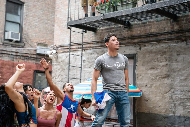 IN THE HEIGHTS, Anthony Ramos, 2021. ph: Macall Polay / © Warner Bros. / courtesy Everett Collection