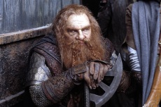 THE LORD OF THE RINGS: TWO TOWERS, John Rhys-Davies, 2002, (c) New Line/courtesy Everett Collection