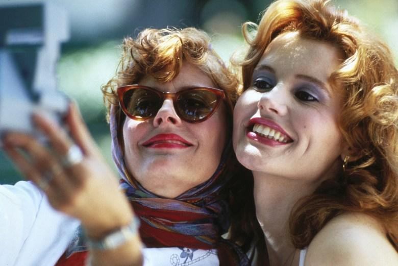 THELMA & LOUISE, Susan Sarandon, Geena Davis, 1991. ©MGM/Courtesy Everett Collection