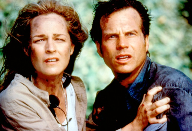"""Helen Hunt Says Her Idea for """"Twister"""" Sequel With 'All Black and Brown Storm Chasers' Was Rejected by Studio"""