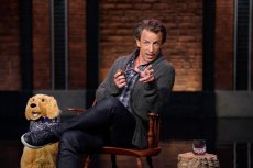 """LATE NIGHT WITH SETH MEYERS -- Episode 1160A -- Pictured: Host Seth Meyers during the """"Back In My Day"""" sketch on June 15, 2021 -- (Photo by: Lloyd Bishop/NBC)"""