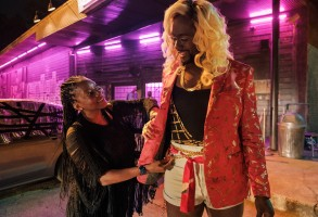 """P-Valley"" costume designer Rita McGhee and Nicco Annan"