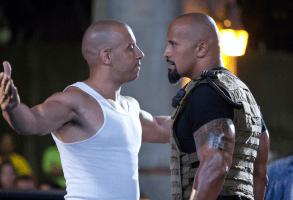 """Vin Diesel, Dwayne Johnson in """"Fast Five"""""""
