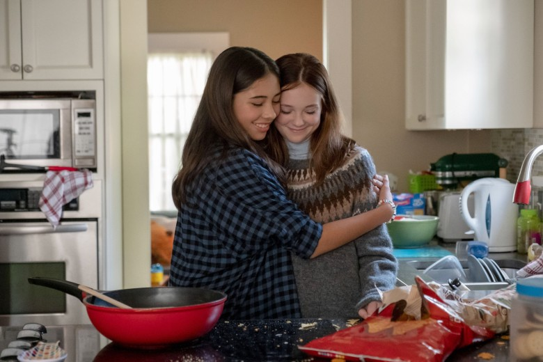 THE BABY-SITTERS CLUB, from left: Xochitl Gomez, Sophie Grace, (Season 1, ep. 105, aired July 3, 2020). photo: Kailey Schwerman / ©Netflix / Courtesy Everett Collection