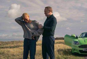 Cush Jumbo as Frances, Jared Harris as George - The Beast Must Die _ Season 1, Episode 2 - Photo Credit: Gareth Gatrell/AMC