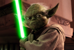 """Yoda in """"Star Wars: Revenge of the Sith"""""""